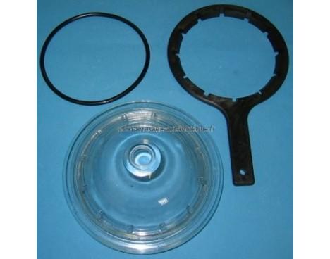 Couvercle 6 39 39 joint cl de filtre python s pr voir for Joint filtre piscine