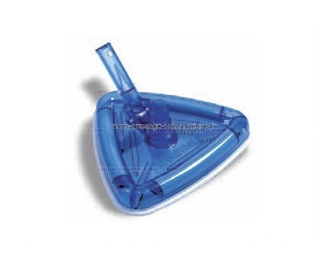 Tête de balai Liner Luxe triangulaire transparente - VL 550
