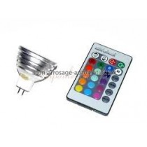 Lampe MR16 LED RGB Multi Couleurs 3W GUR.3