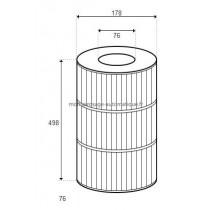 Cartouche pour filtre PRC 75 D178/H498 (STA-RITE)