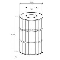 Cartouche de filtration pour filtre Terra 150 - D245/H620 - Past150 (ASTRAL)