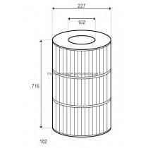 Cartouche pour filtre PXC150 D227/H716 (STA-RITE)
