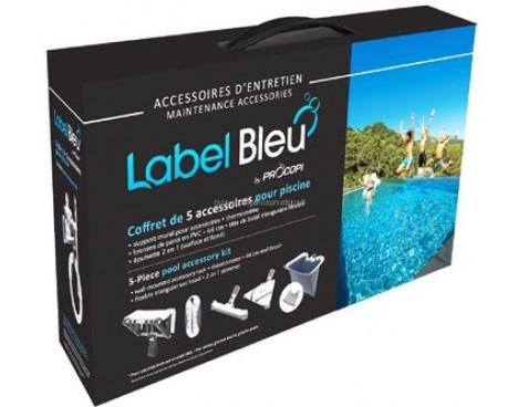 Coffret de 5 accessoires Label Bleu