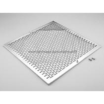 Grille (+ Vis) BDF carrée - Inox Béton (ASTRALPOOL)