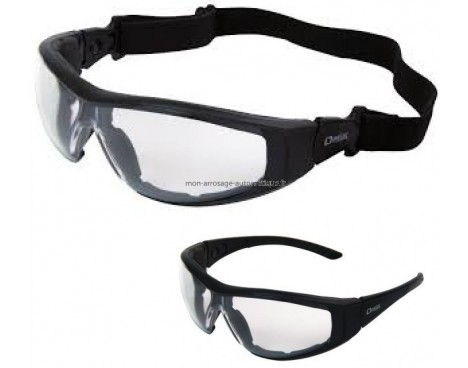 5ad57c38be6ed1 Lunettes de protection à branches OP TIMAL - OPSIAL